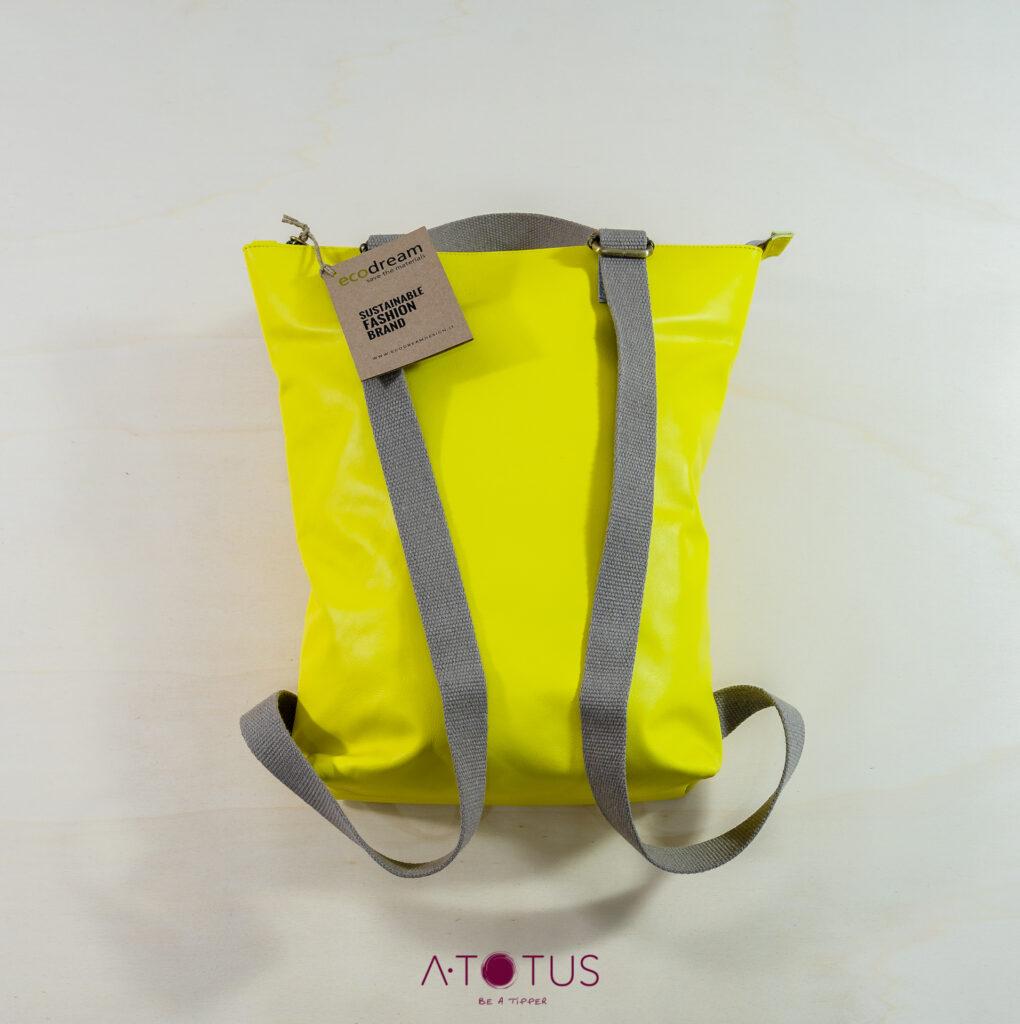 Zaino hybrid giallo-3